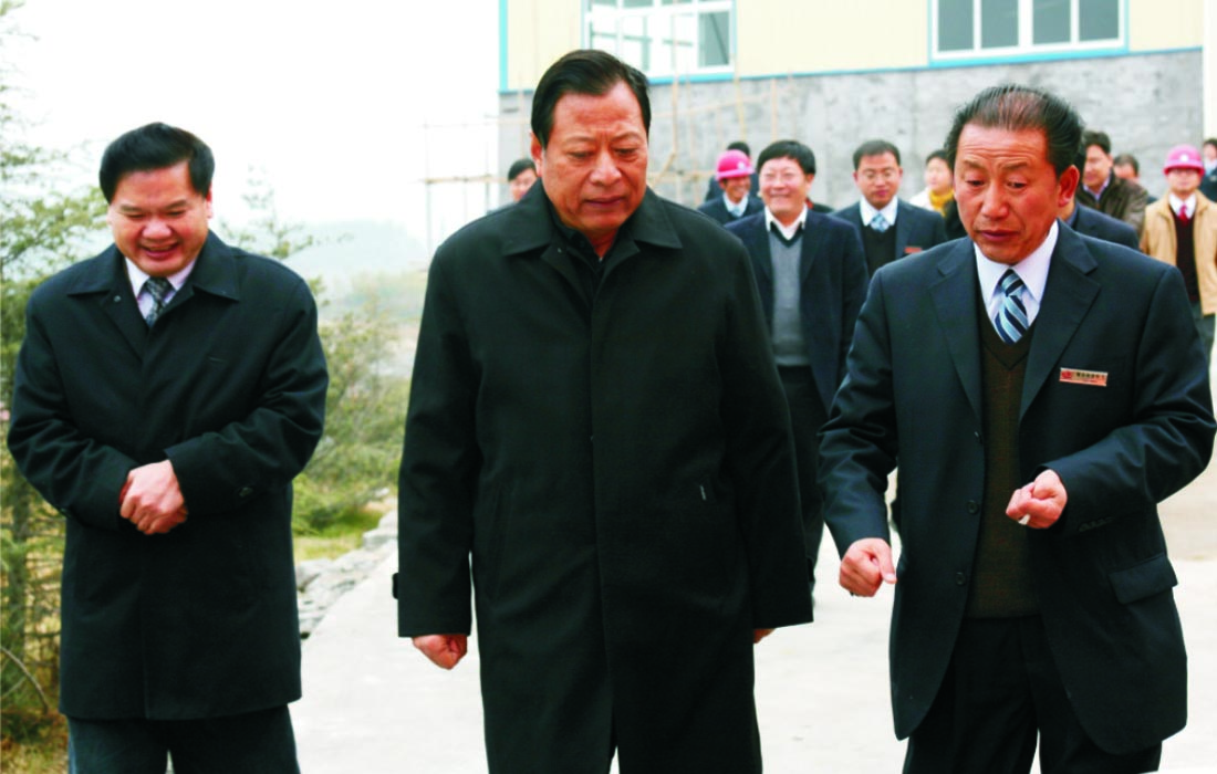 In Dec 2007, the vice govern of Hubei province Mr.Liu Youfan visited Dongsheng group.