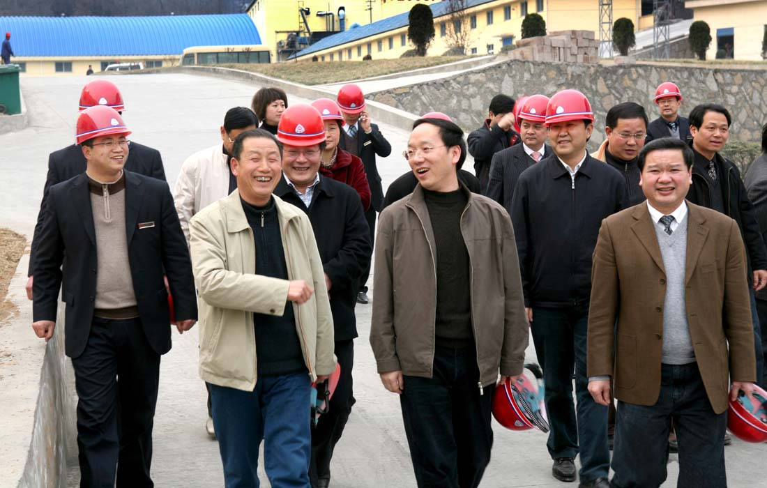 In March 2008, the mayor of Yichang Mr.Li Lecheng made a research at Dongsheng group.